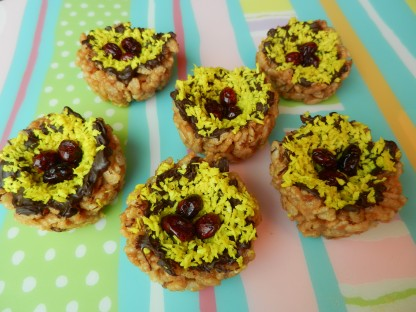 Crisped Rice Bird Nests