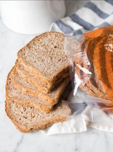 ezekiel bread slices