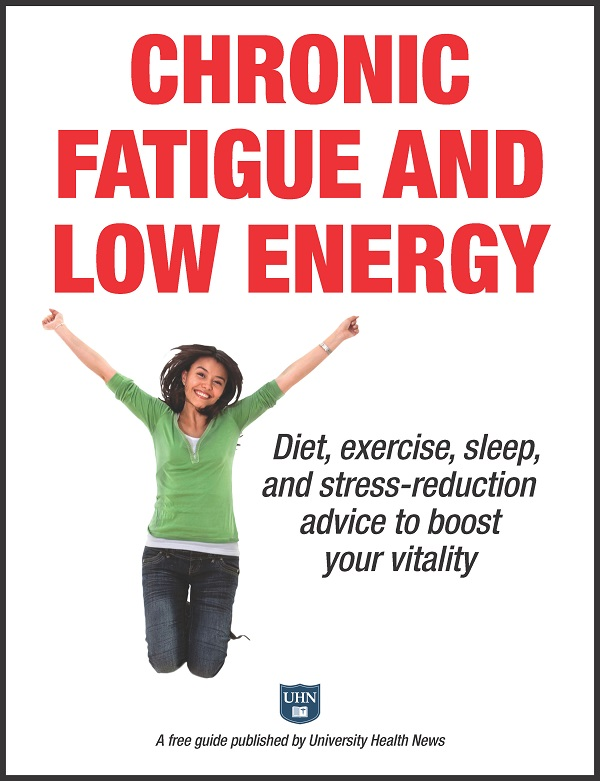 Chronic Fatigue and Low Energy: Diet, exercise, sleep, and stress-reduction advice to boost your vitality