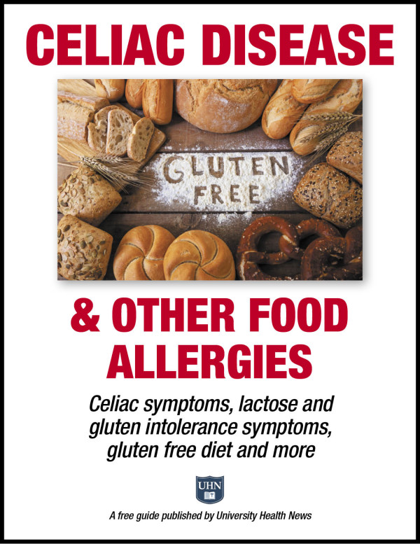 Celiac Disease & Other Food Allergies:  Celiac symptoms, lactose and gluten intolerance symptoms, gluten-free diet, and more