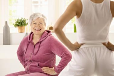 core exercises for elderly