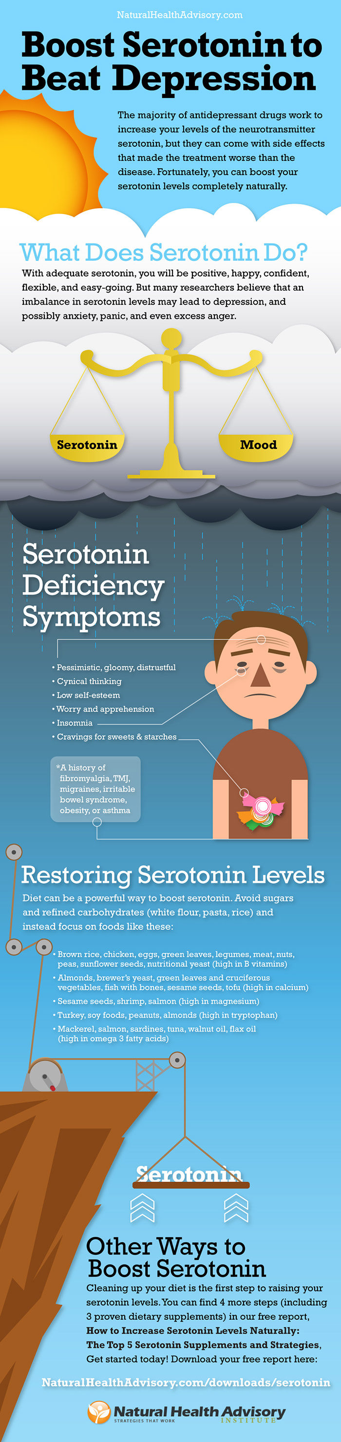 How to Boost Serotonin to Beat Depression