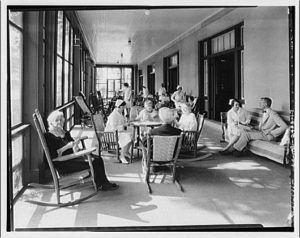 tuberculosis shady rest sanatorium