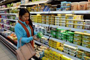 butter vs. margarine