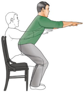 core exercises semi-sits