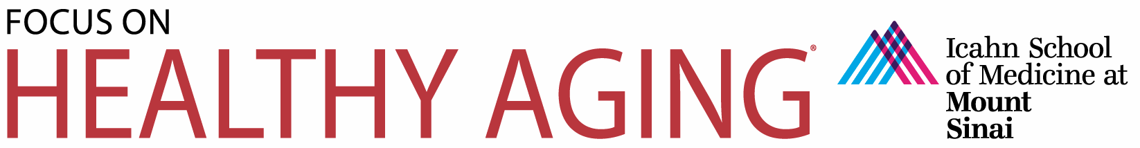Mount Sinai School of Medicine Report on Alzheimer's Disease logo