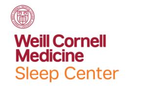 Weill Cornell Medical College Better Sleep logo