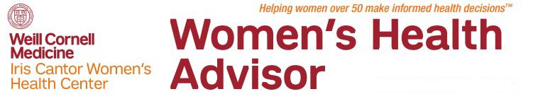Weill Cornell Medicine's Women's Health Advisor (WHA) logo