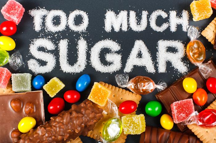 high sugar diet and bone health