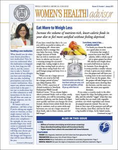 Women's Health Advisor: January 2015