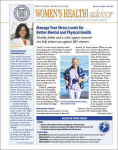 Women's Health Advisor: March 2015