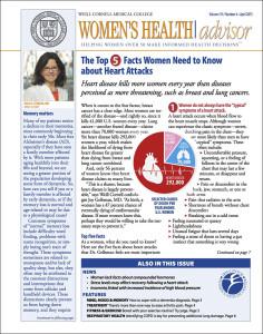 Women's Health Advisor: April 2015