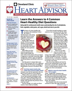 Heart Advisor: July 2015