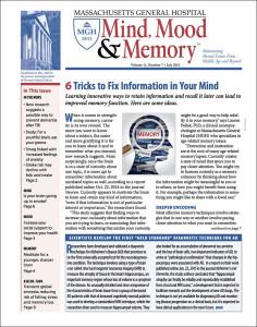 July 2015: Mind, Mood & Memory