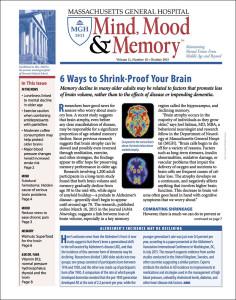 Mind, Mood & Memory: October 2015