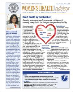 Women's Health Advisor: October 2015
