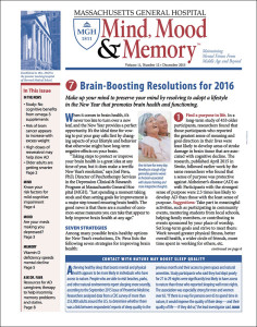 MInd, Mood & Memory: December 2015