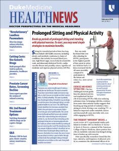 Duke Medicine Health News 2016-01