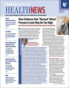Duke Medicine Health News 2016-03