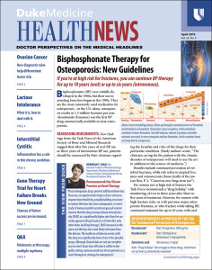 Duke Medicine Health News 2016-04
