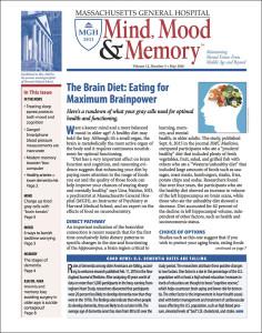 Mass General Hospital Mind, Mood, & Memory 2016-05