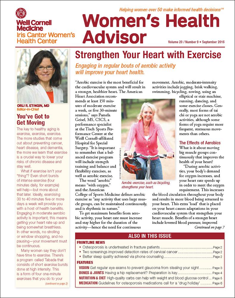 Weill Cornell Medical College Women's Health Advisor