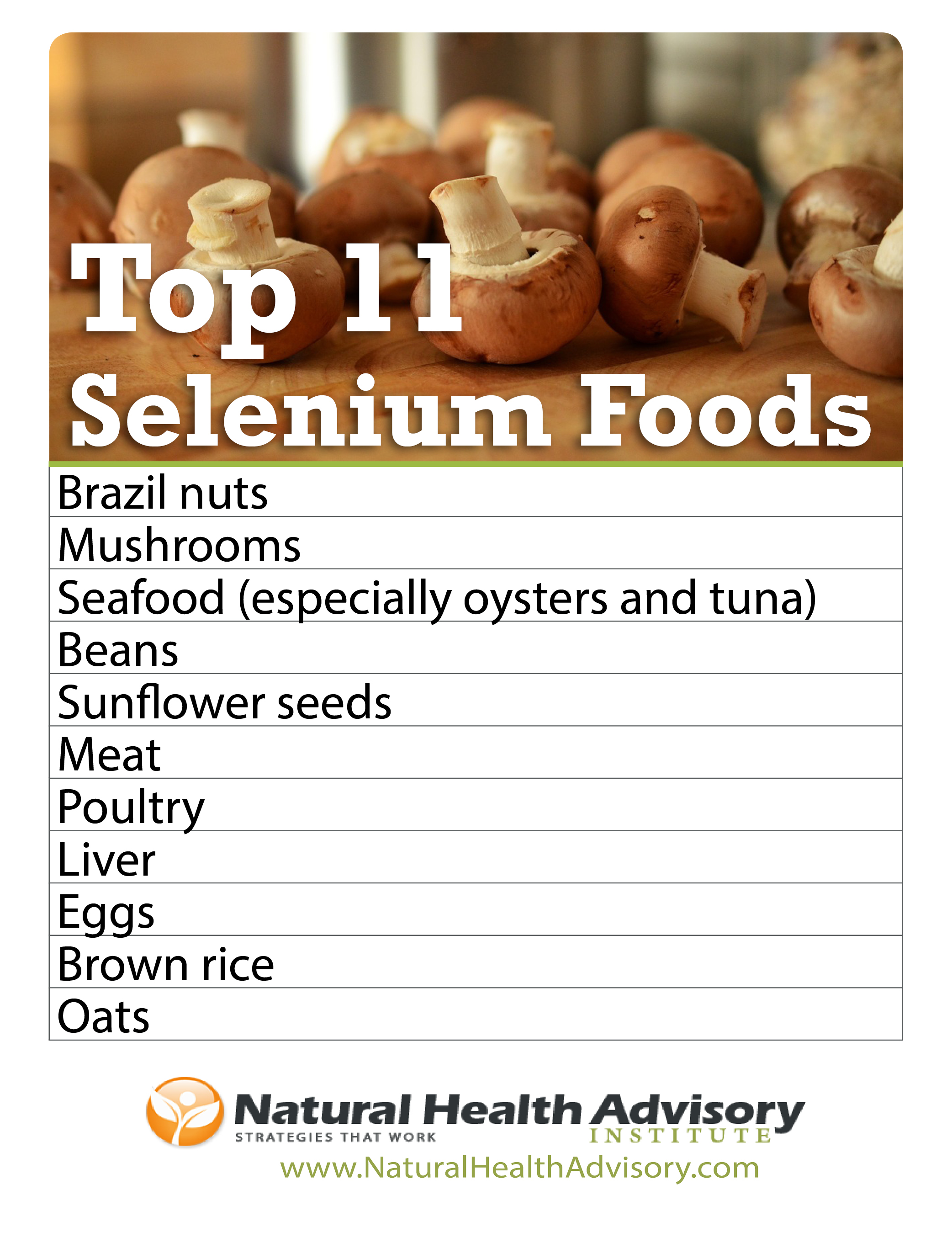 Top 11 Selenium Foods: Boost Your Intake of This Essential ...