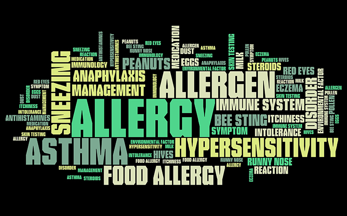a study of the difference between an allergy and an intolerance No correlation between wine intolerance and  were included in this study intolerance to sulfites  f thevenina population study of food allergy in.