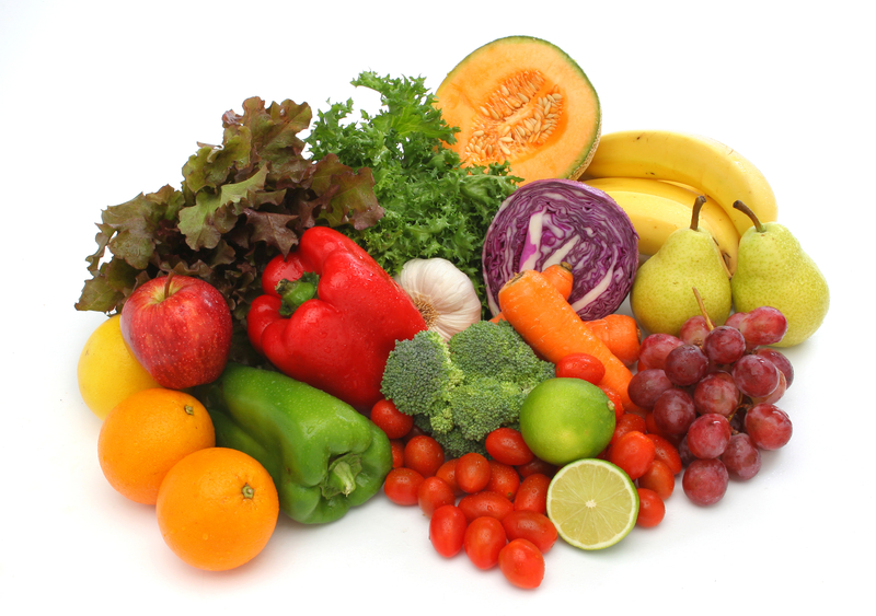 how many servings of fruits and vegetables