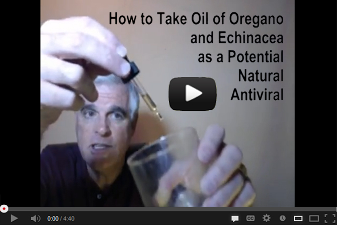 How to Take Oil of Oregano and Echinacea as a Potential Natural Antiviral