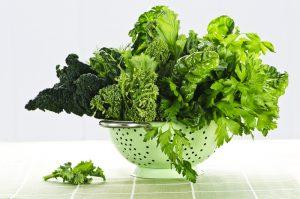 mind diet green leafy vegetables