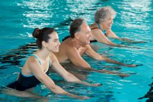 Water Aerobics: Easy on the Joints, Good for the Heart