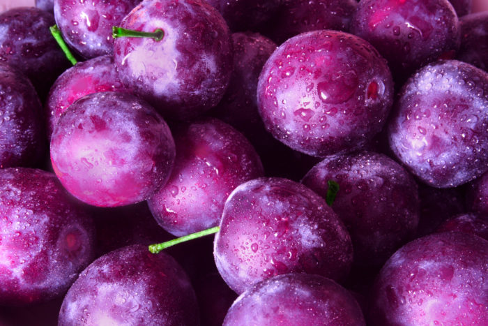 why are plums good for you