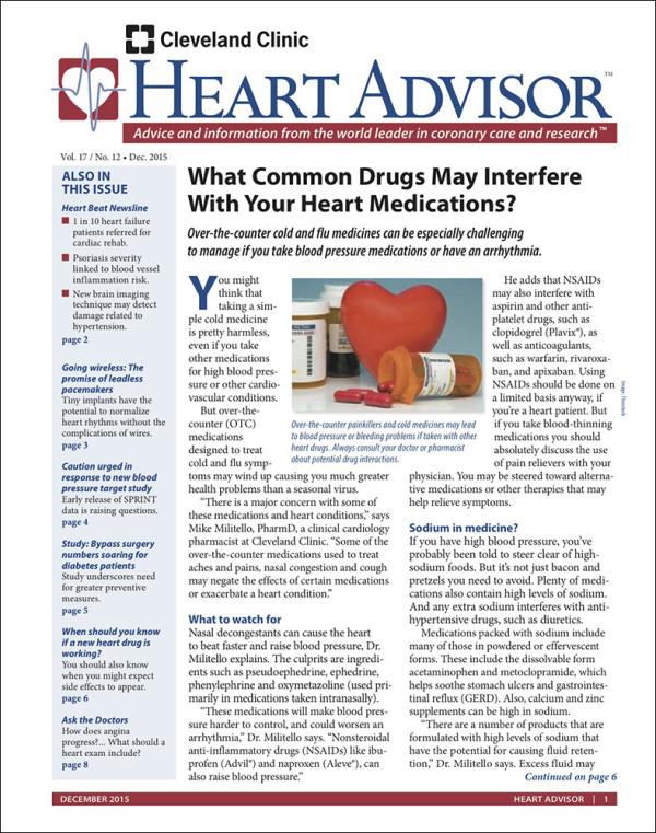 Heart Advisory: December 2015