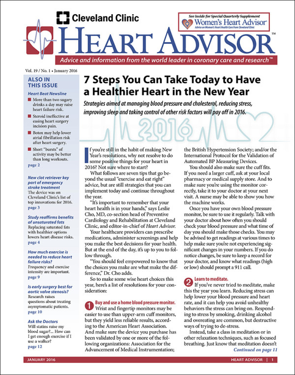 Heart Advisor 2016-01