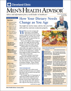 Men's Health Advisor 2016-01