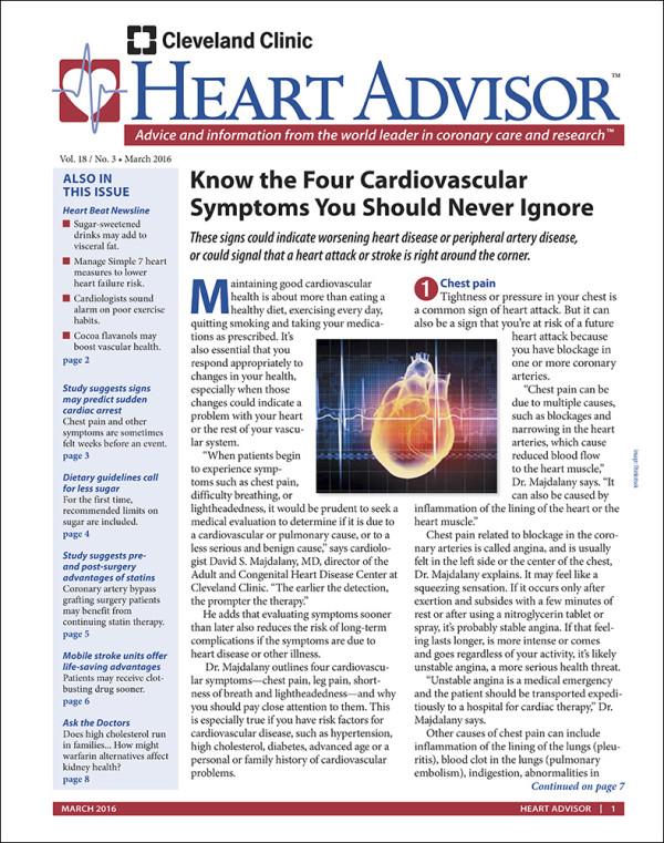 Heart Advisor 2016-05
