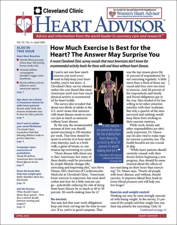 Heart Advisor 2016-04