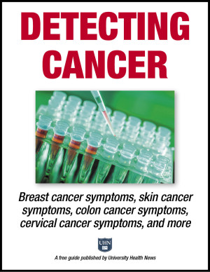 Detecting Cancer: Breast cancer symptoms, skin cancer symptoms, colon cancer symptoms, cervical cancer symptoms, and more.