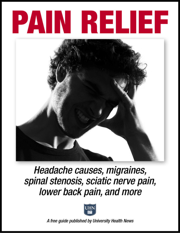 Pain Relief: Headache causes, migraines, spinal stenosis, sciatic nerve pain, lower back pain and more.
