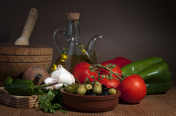 Staples of the Mediterranean diet