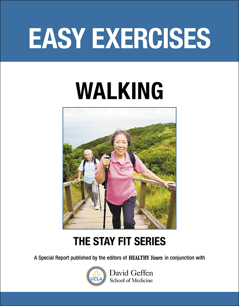 easy exercises walking to stay fit