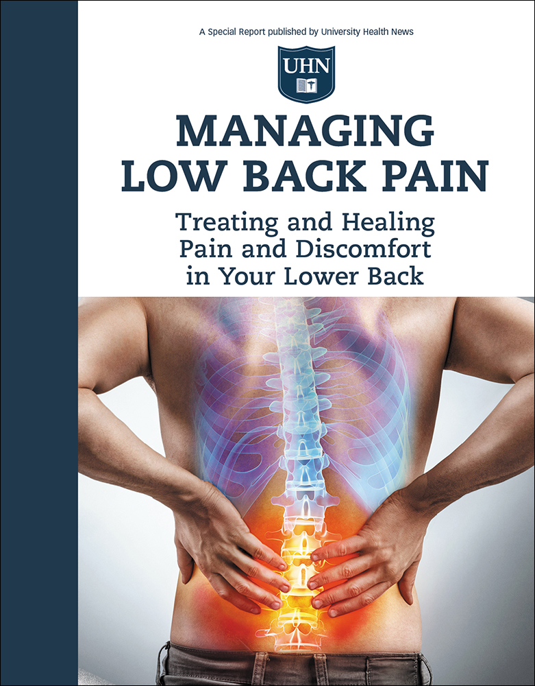 how to manage lower back pain