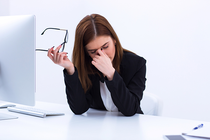 woman suffering from low energy