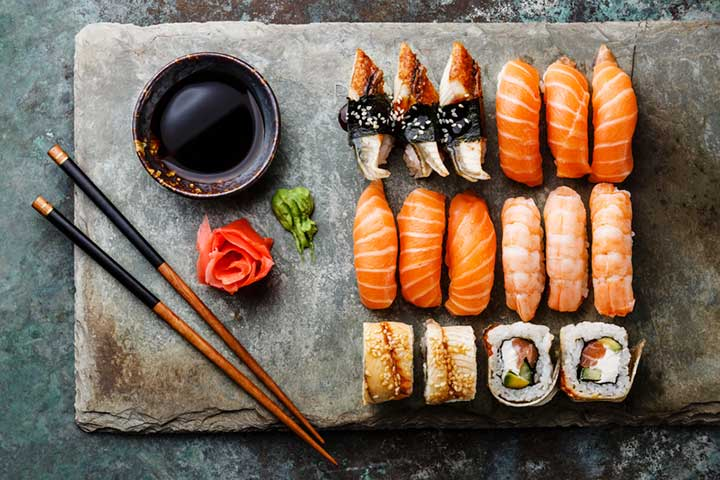 is sushi healthy?
