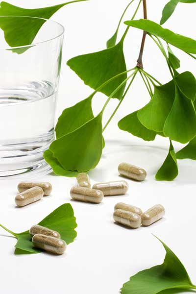 Gingko biloba supplements that may have a host of health benefits
