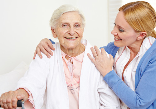 caring for elderly parents at home